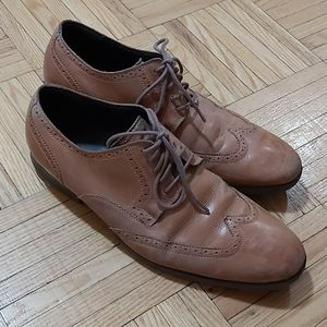 Cole Haan 10.5 M mens medium brown dress shoe